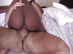 Antonio Orders Two Gorgeous Black Hookers to His Room