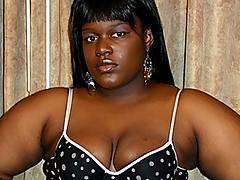 Big Black Babe Jolie Rides The Cock