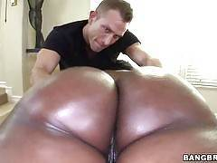 Big Black Tits Massaged. Nyomi Banxxx