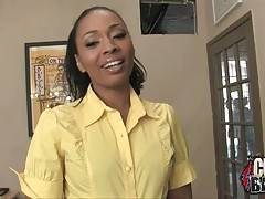 Ebony baroness is here to have rough fuck with her guys