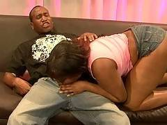 See black cutie Dominique Pleasures give pleasure to her ravenous lover. Slutty Dominique proves that black lovers are the best as she gives her lover a blowjob that he will never forget. See Dominique get rewarded with hardcore pounding from his hug