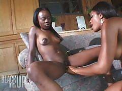 Anna Belle and Ashley Brooks. black it on up