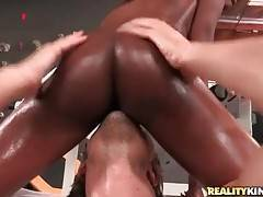 Ebony Alana Angel is here to satisfy her fucker