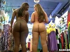 Ebony and Ivory w/ Bella & Nikki Stone